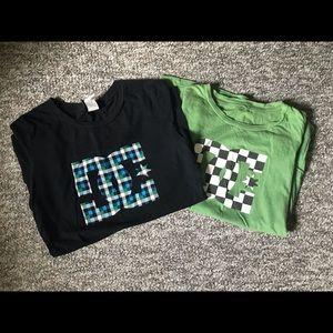 Bundle of 2 DC shirts 🛹